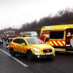 Szörnyethalt egy rendőr az M70-es autópályán, az egyik pihenőhelyen gázolta el egy jármű