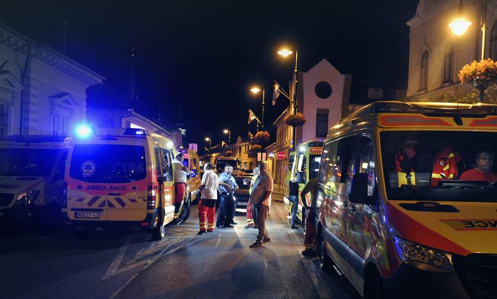 Durva tömegverekedés karókkal és vascsövekkel Ózdon, ketten életveszélyesen megsérültek