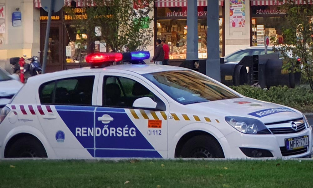 Lövöldözés Budapesten – golyóálló mellényben vonultak ki a rendőrök