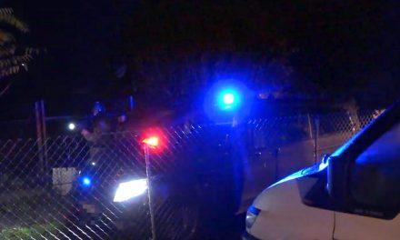 A két drogos férfi esőcsatornával ütötte szét a hazaérkező házaspár autóját, majd felvillant egy penge, amivel vágtak is
