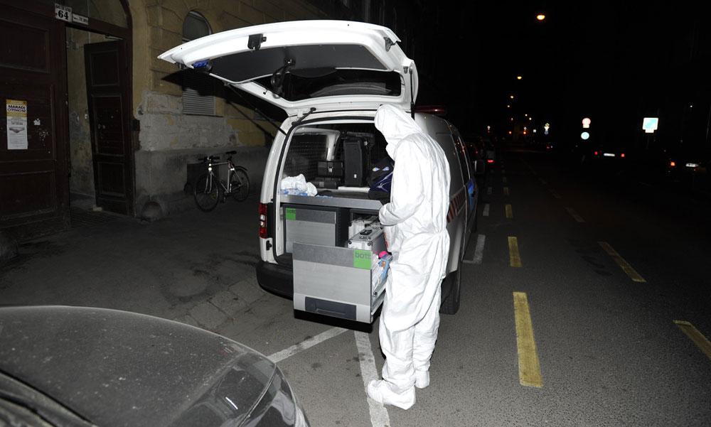 Gyilkosság Budapest belvárosában