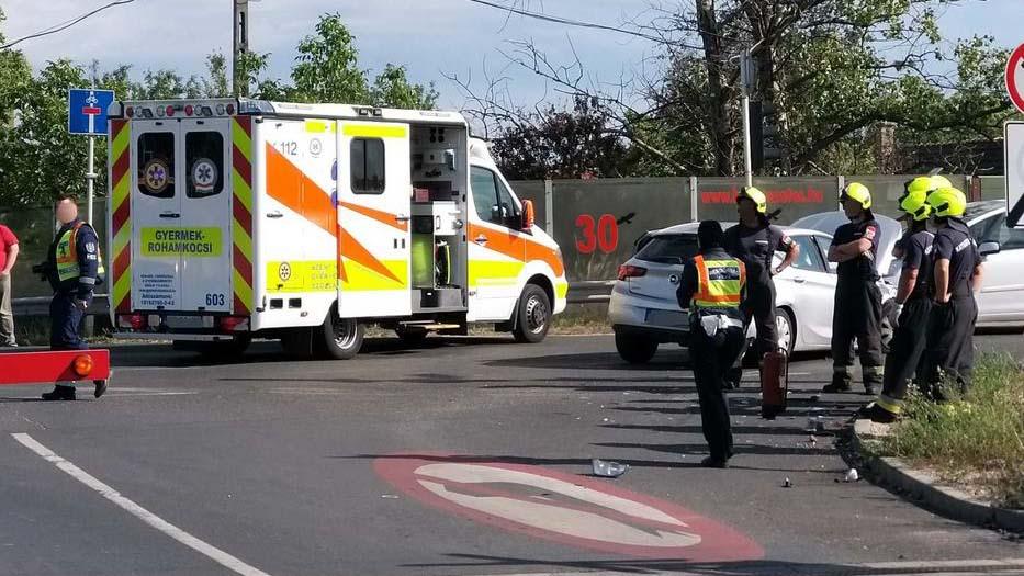 Egyéves kisfiú halt meg Budapesten egy balesetben