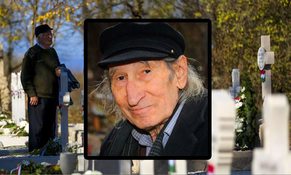 Megrendítő szavakkal búcsúzott unokája Szilágyi Istvántól a temetésen