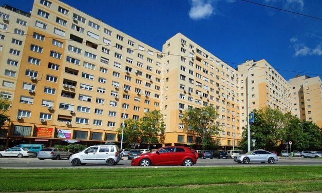 Kizuhant a 9. emeletről és meghalt egy férfi Tatabányán
