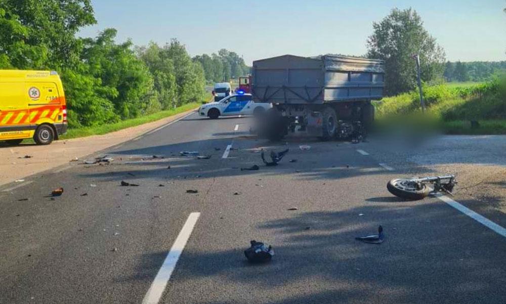 Néhány óra alatt két halálos motorbaleset Magyarországon