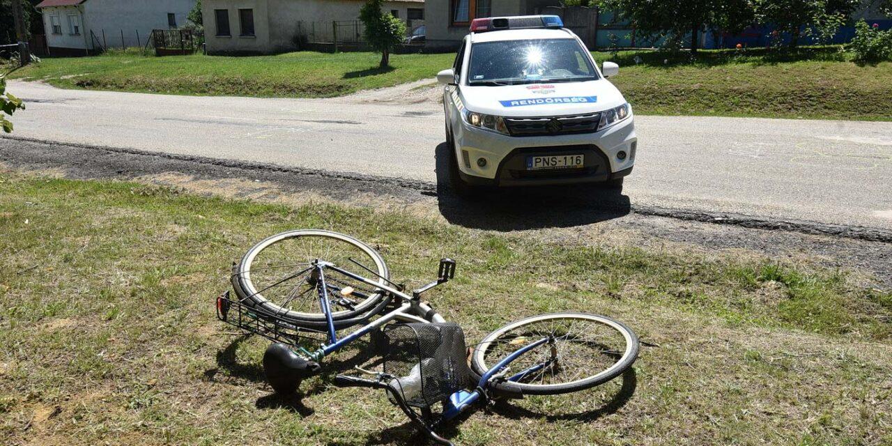 Halálra gázolt egy biciklist, a sofőr két gyermekét is közúti balesetben veszítette el