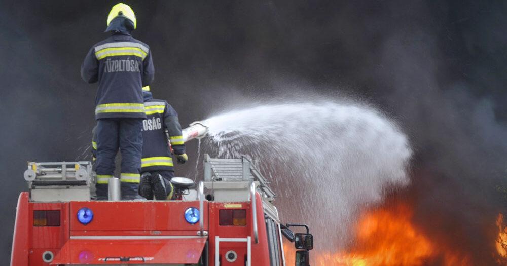 Halálos robbanás Nyírbátorban, hárman meghaltak, levegőbe repült egy tartály a biogáz üzemben
