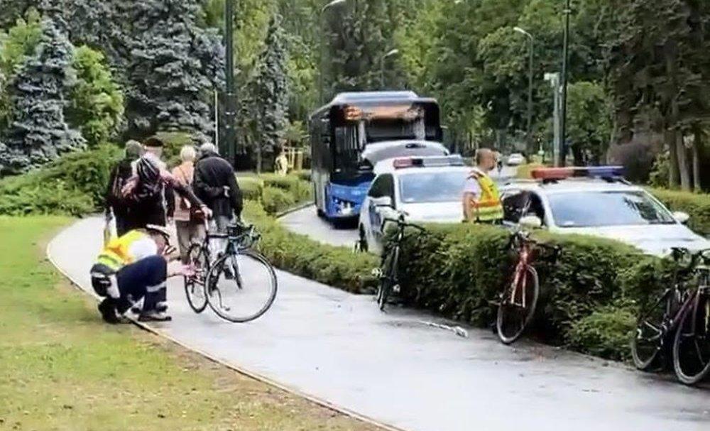 Megsérült az olimpiai bajnok, elütötte a busz a gyorskorcsolyázókat a Margitszigeten