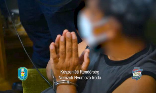 Rajtaütés: imára kulcsolták a kezüket a drogkereskedők a rendőrségi akció látttán