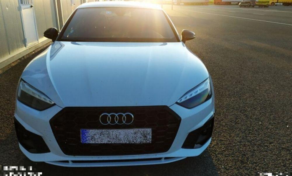 Körözött Audit kapcsoltak le a határon – Spanyolorszgban is körözték a járművet