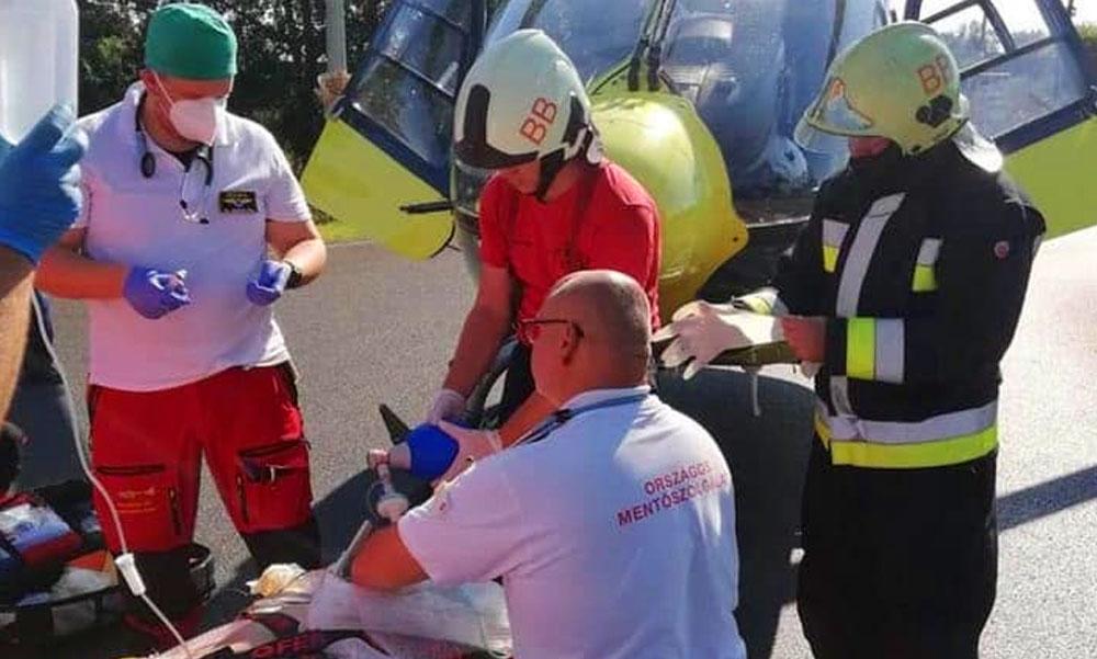 Elgázolt a vonat egy kerékpárost a Balatonnál: kritikus állapotba vitték kórházba a sérültet