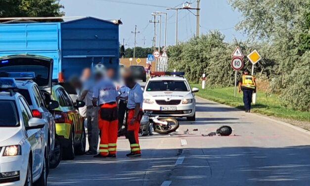 Fiatal mentős  a tegnapi 7-es főúti baleset áldozata
