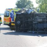 Meghalt az M7-esen felborult kisbusz egyik sérültje