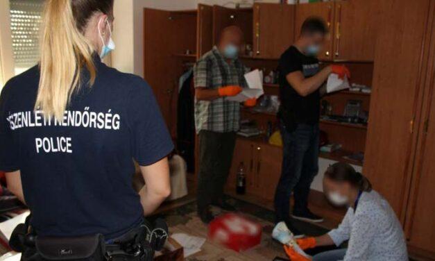 Lecsapott a rendőrség a kábítószerterjesztőkre: 15 embert vettek őrizetbe