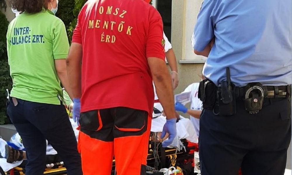Egy érdi férfi életét 80 kiló jéggel mentették meg a rendőrök
