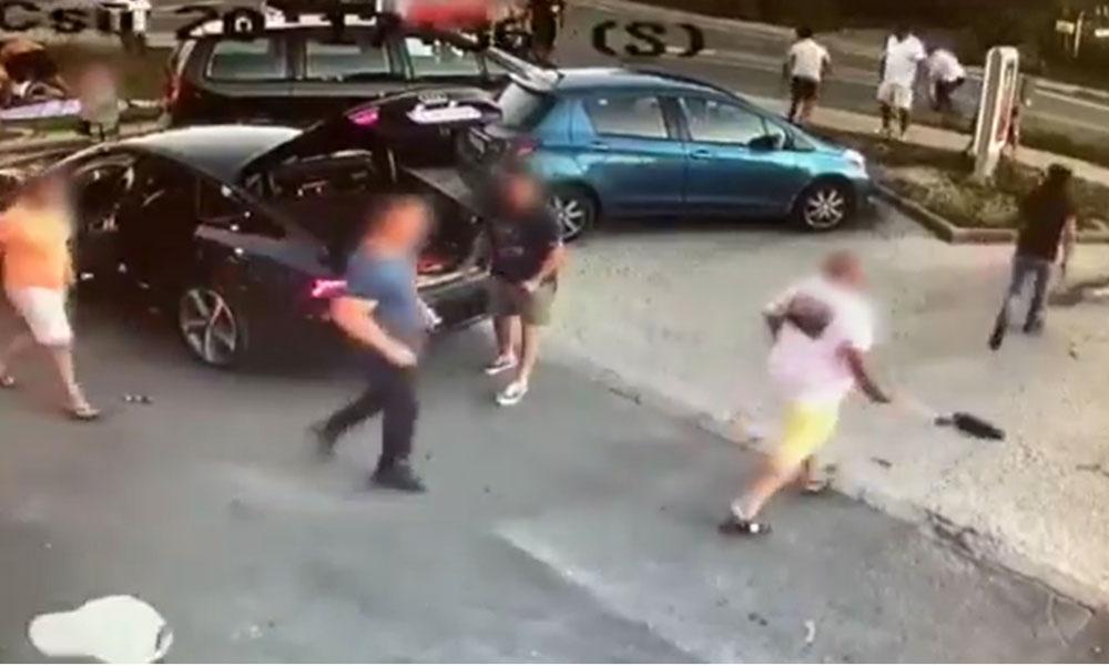 Videó az érdi bandaháborúról – a felvételt a rendőrség hozta nyilvánosságra