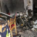Mozgássérült élettársára gyújtotta a házat a nő, majd elmenekült a helyszínről