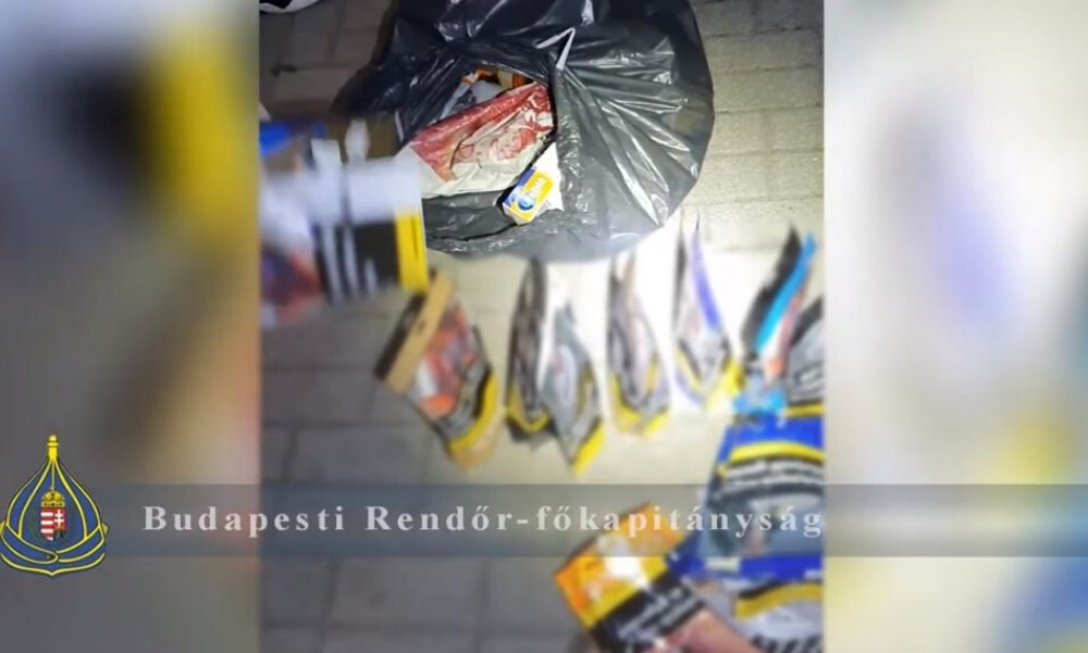 Lefülelték a dohánybolti tolvajokat – közel 2,5 millió forint értékben zsákmányoltak – videó