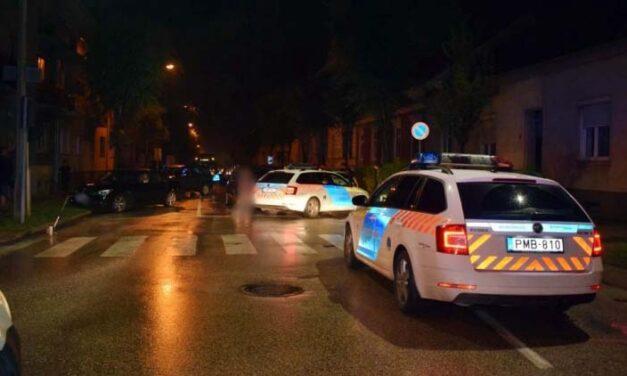 Elfogták az osztrák audist, aki egy autósüldözés után elütötte az intézkedni próbáló rendőrt Sopronban