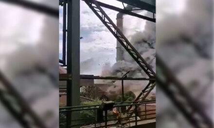 Robbanás történt Dunaújvárosban, jelentős az anyagi kár