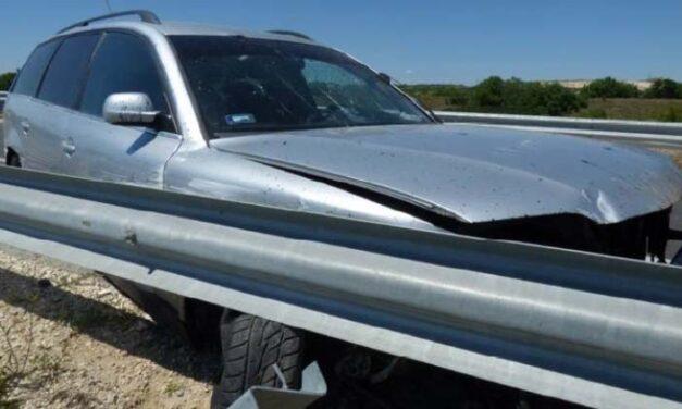 Részegen okozott baleset egy sofőr, aki letarolt egy körforgalmat Várpalotán
