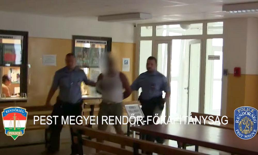 Videóval – Sorozatbetörőt fogtak el a rendőrök Gödöllőn, aki, lakásokból, boltokból és autókból is lopott