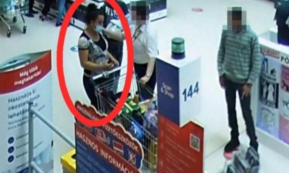 Ön látta valahol ezt a nőt? Azt hitte ingyen lesz neki a bevásárlás – fotó