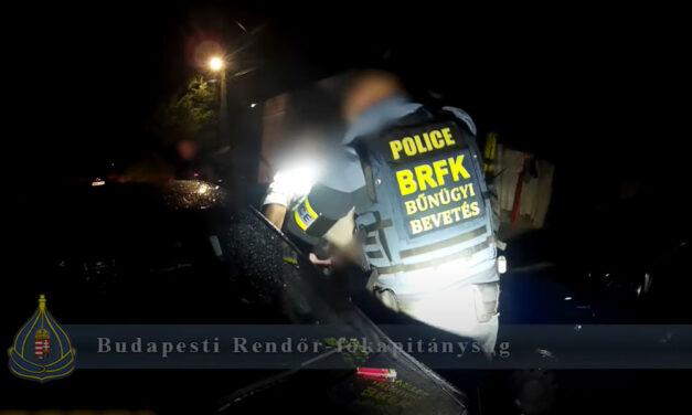 Elfogták az élettársát ájulásig verő férfit, hőkamerás drónnal térképezték fel a rendőrök az akció helyszínét