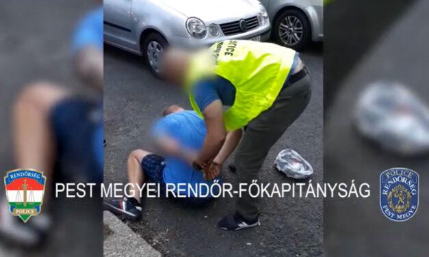 Drogkereskedőre csaptak le a rendőrök Gödöllőn, meglepődött a váratlan akciótól férfi
