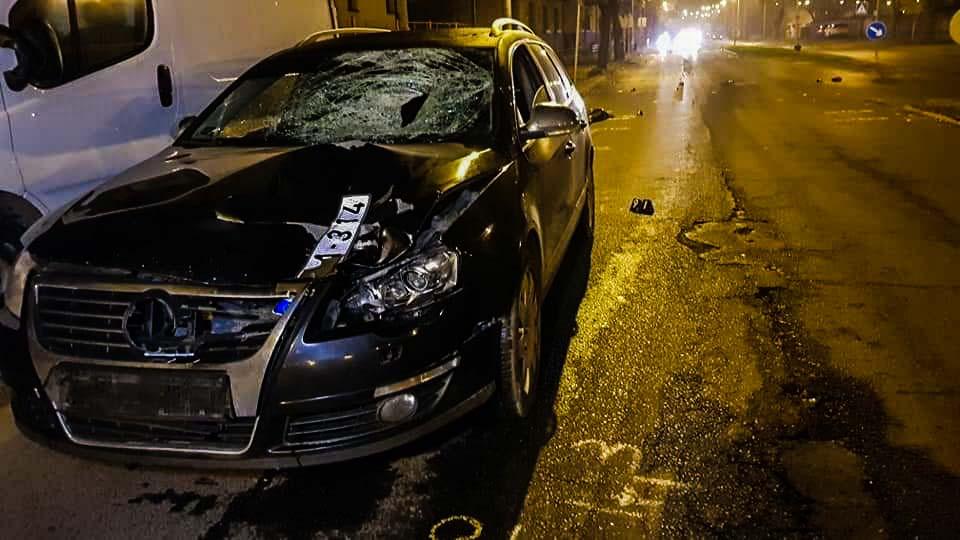 Száguldó autó miatt szörnyethalt egy gyalogos Ózdon, kivilágítatlan biciklis halt meg Bábolnánál