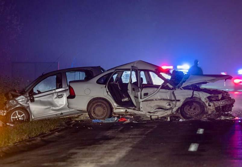 Halálos baleset Jakabszállás és Bócsa között, karambol az M3-as hajdú-bihari szakaszán