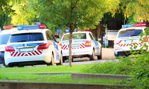Lövöldözés Debrecenben, több lövés hallatszott egy társasháznál, a lépcsőházban is elsült a fegyver