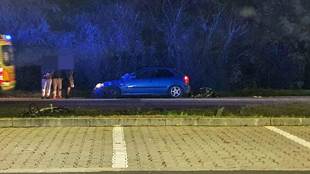 Halálos biciklis gázolás Szada belterületén, motoros sérült egy ütközésben Pécsen