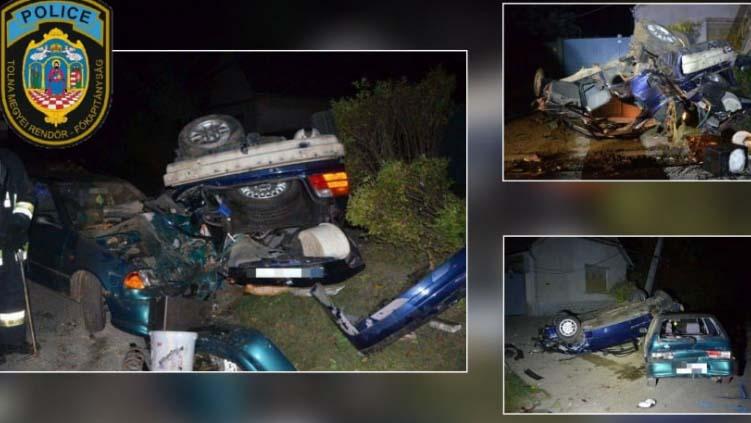15 éves fiú vezetett egy BMW-t: súlyos baleset lett a vége