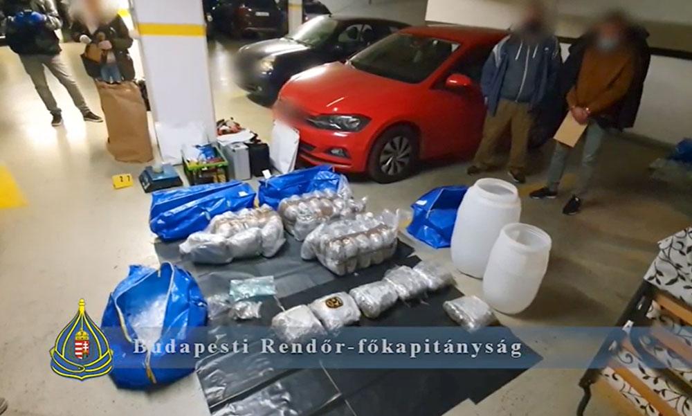 Hatalmas drogfogás: 100 millió forint értékű kábítószer volt az IKEÁ-s táskákban