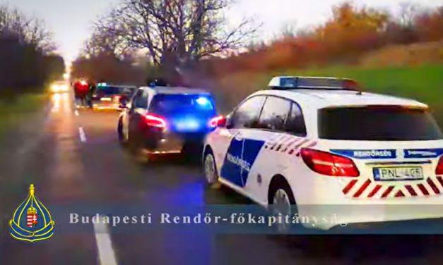 A menekülő drogdíler elütött egy rendőrt, lövöldözés és autós üldözés lett az igazoltatásból