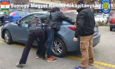 Pillanatok alatt történt az akció: Lecsaptak a zsarolókra Siófokon, az enyingi-maffiával is kapcsolatban lehetnek az elkövetők