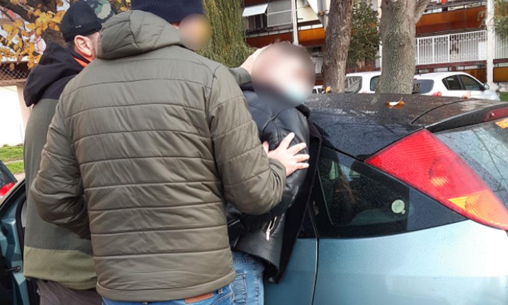 Fékcsikorgás a lakótelepen, stricire csaptak le a rendőrök Siófokon