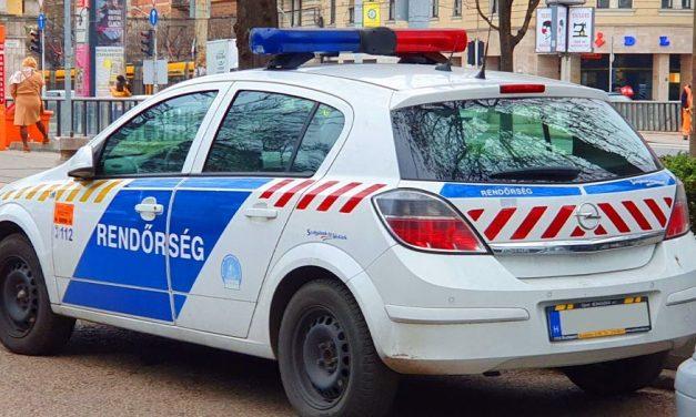 Rablás Budapest belvárosában: fizetésosztáshoz készült a cégvezető, sok tízmillió volt nála