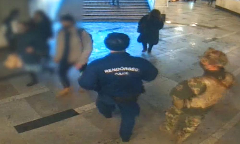 Lebuktatta magát a körözött bűnöző! Amikor meglátta a rendőröket, futásnak eredt az egyik budapesti aluljáróban