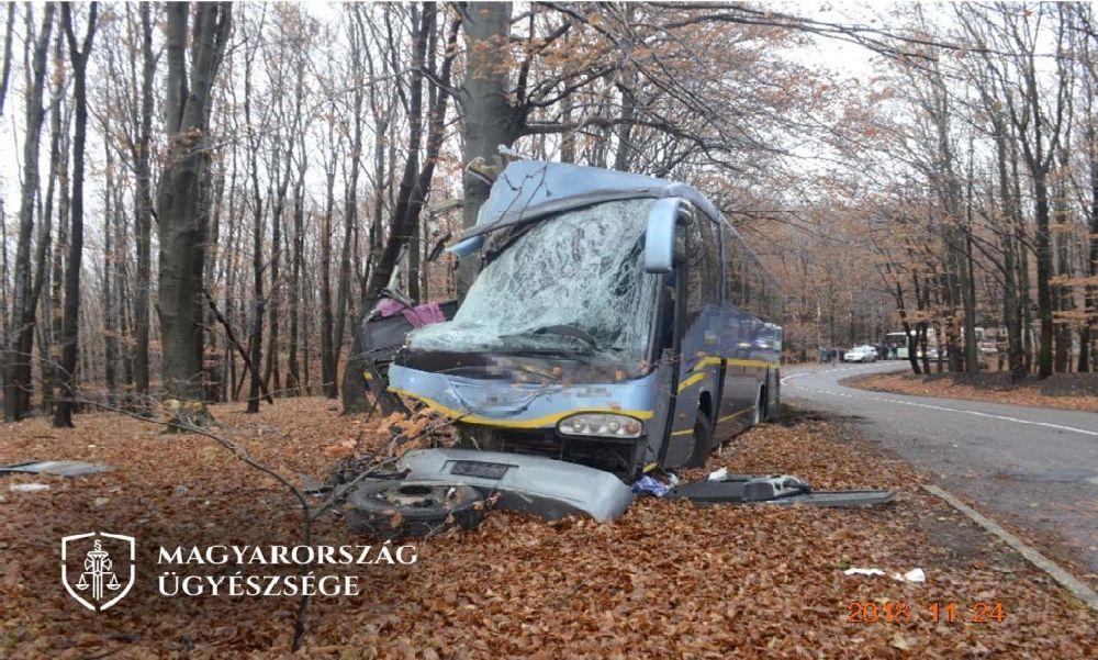 Tömegszerencsétlenséget okozott a fékberendezés rossz használatával egy buszsofőr: az ügyészség vádat emelt ellene