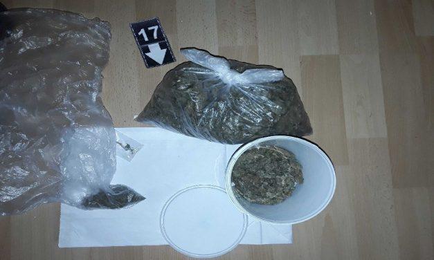 Letartóztatták a polgárdi drogdílert: a férfi a lakásán árulta a kábítószert