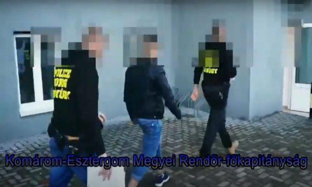 Kis híján autót lopott egy férfi: a dorogi rendőrök elfogták a feltételezett tolvajt