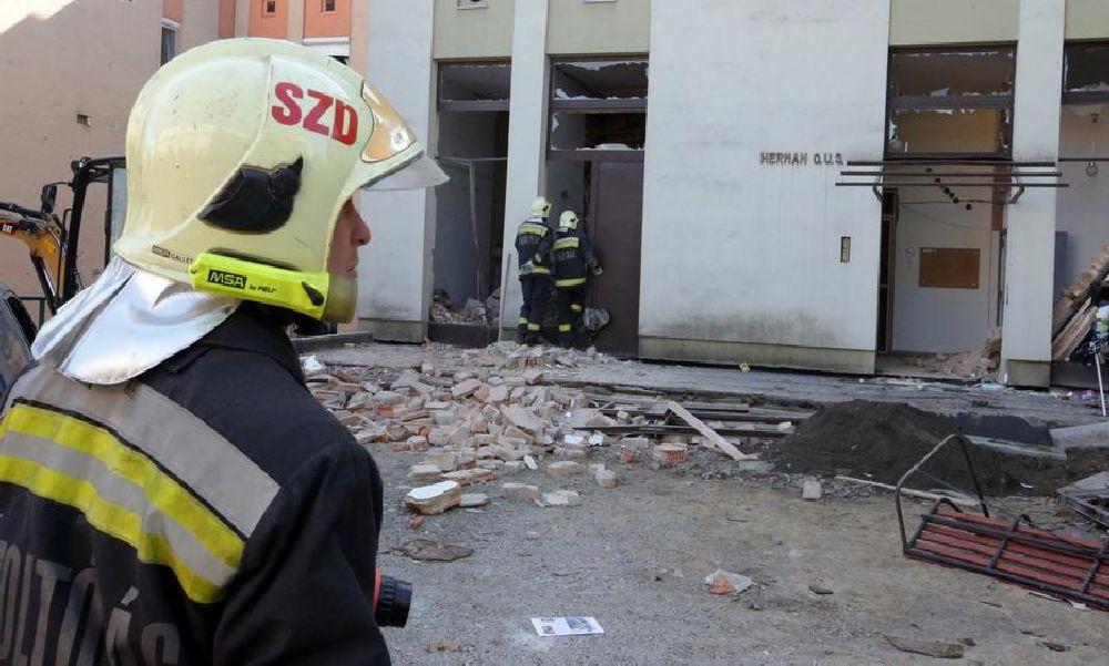 Szekszárdi gázrobbanás: előkerült két gyanúsított, a gázszerelőnek még szakmai végzettsége sem volt