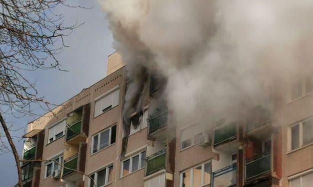 Halálos paneltűz Budapesten a kőbányai lakótelepen, négy év alatt másodszor gyulladt ki ez a ház