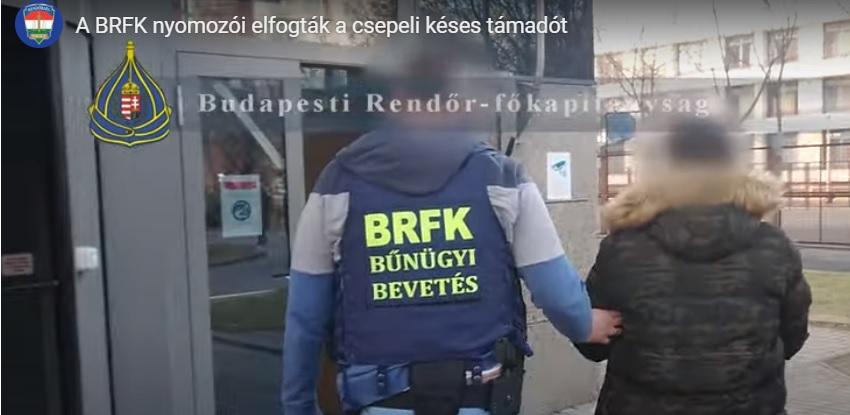 Letartóztatták a csepeli buszon késelő férfit – Ez várhat most rá