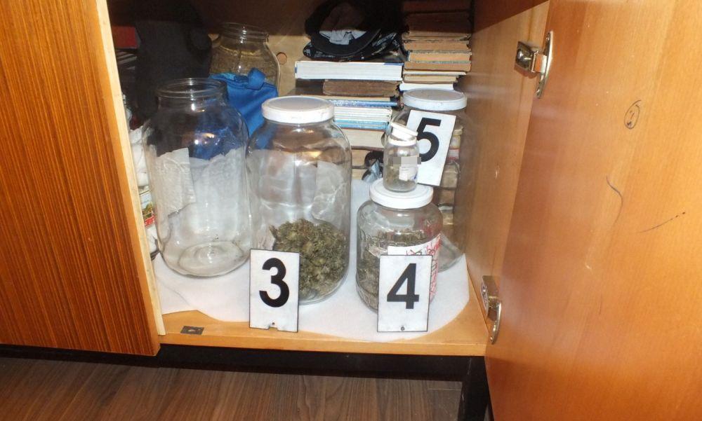 Háza melléképületében termesztett marihuánát: a szolnoki rendőrök felszámolták a férfi kertjét – fotók