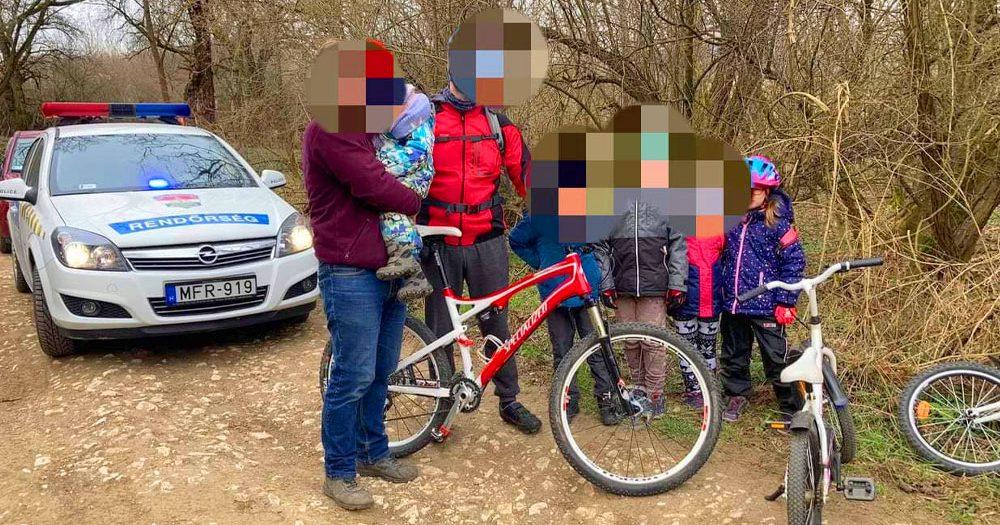 Eltűnt egy 3 éves gyerek a Pilisben: hegyi kerékpározók találtak rá a kisgyermekre