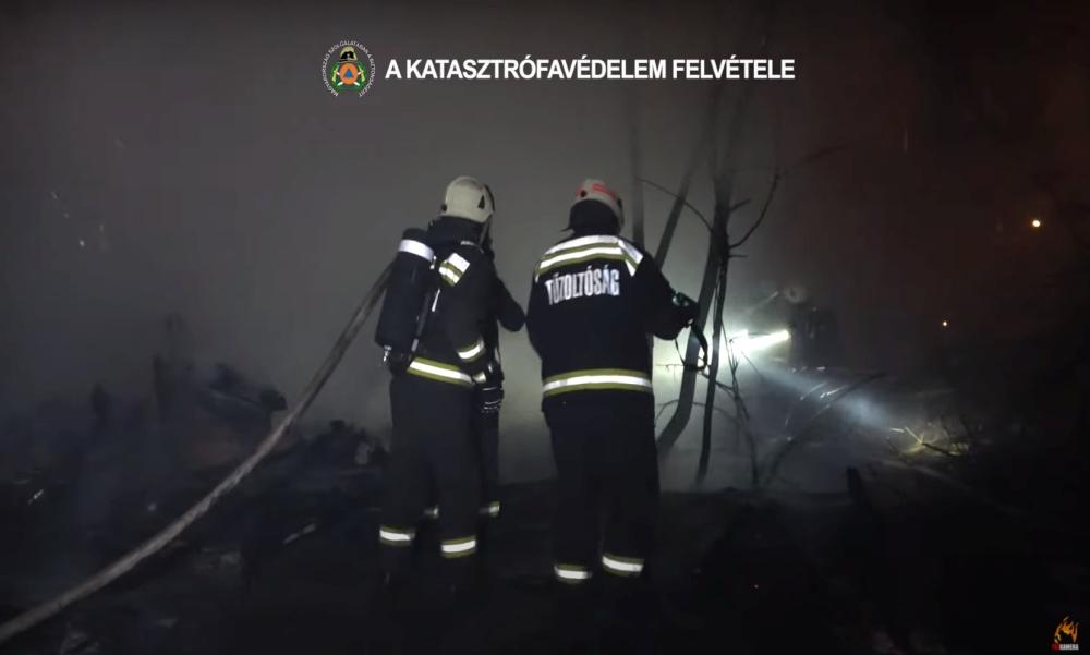Videón az újpesti tűz: a tragédiában egy ember az életét vesztette