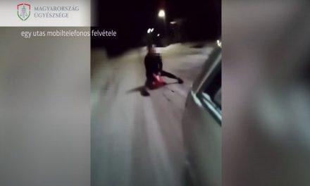 Ilyen nincs: szánkózás miatt kaphat felfüggesztettet és mondhat búcsút a jogosítványának egy férfi – Videóval